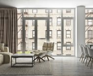 241 West 107th Street living room