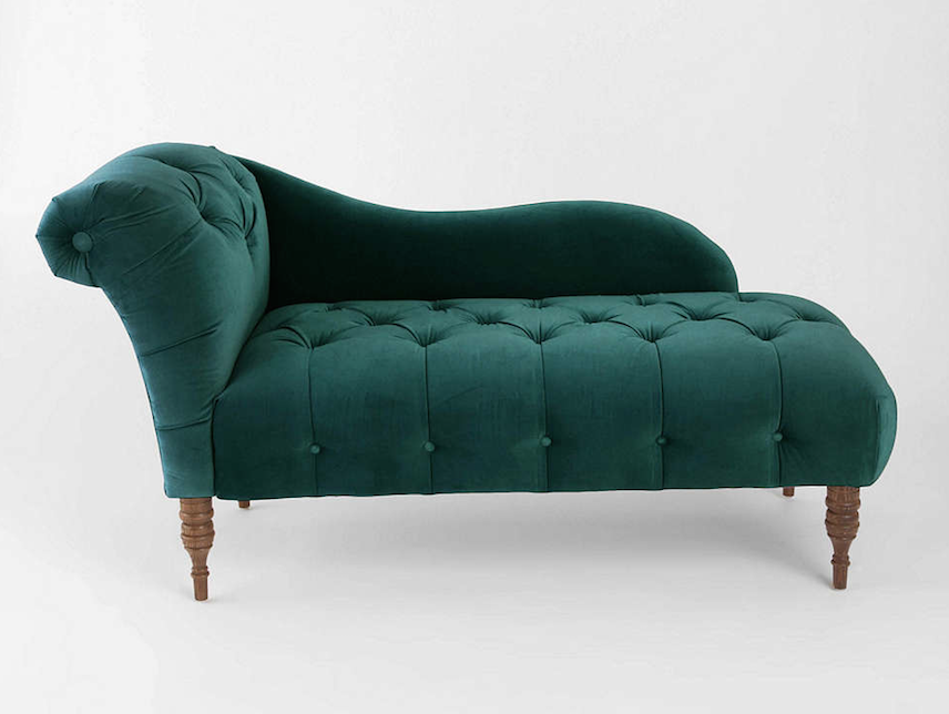 green velvet chaise lounge gorgeous green velvet chaise
