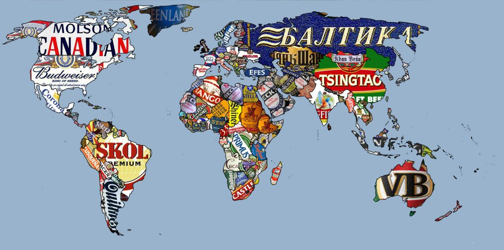 most popular beers by country