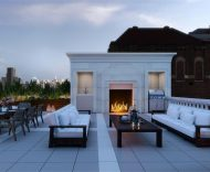 private rooftop 1110 park ave
