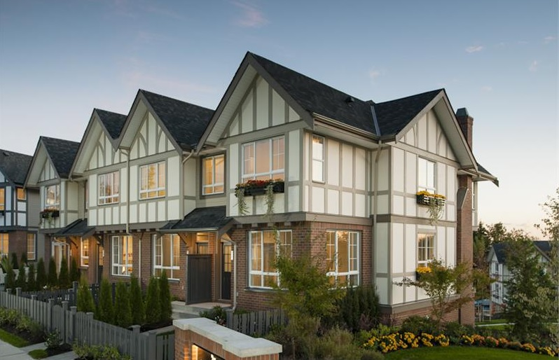 Tudor style townhomes of brighton at westerleigh hit the for Master down townhomes