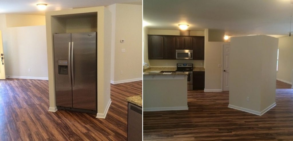 Beautiful Home Design Fails Part - 3: Refridgerator Island