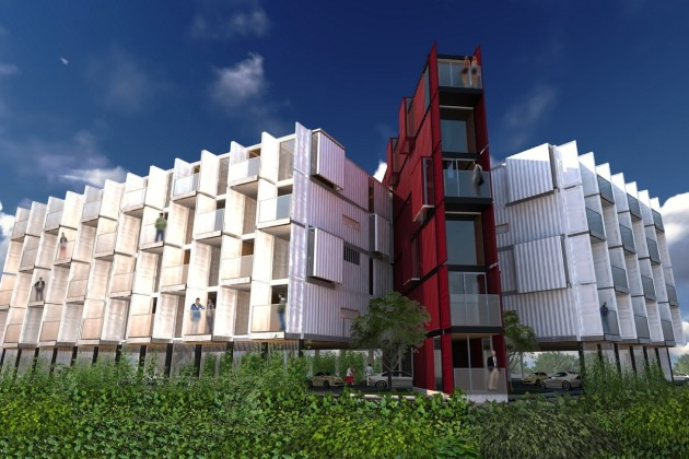 shipping container homes Travis Price