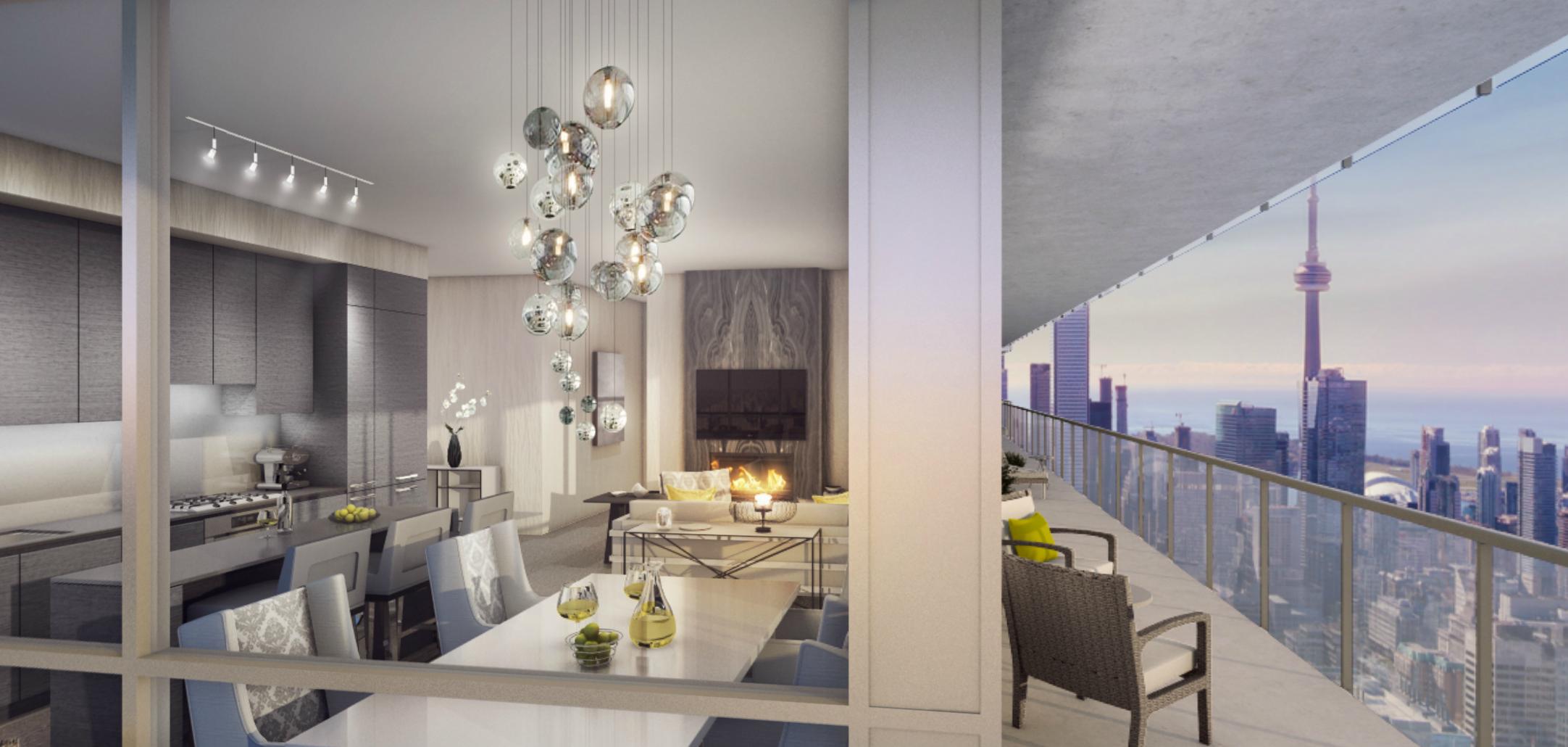 Floorplan Of The Week 1 1m Toronto Penthouse With