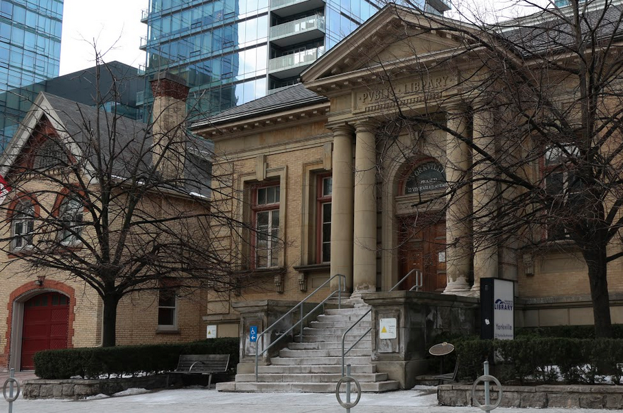 oldest library toronto