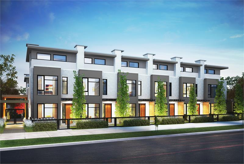 Hamilton Is Luxury Townhome Living Along Vancouver 39 S Oak