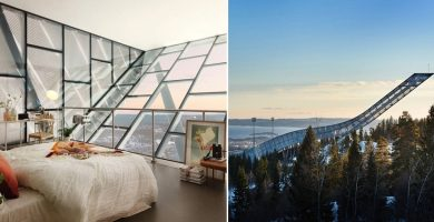Ski jump penthouse featured