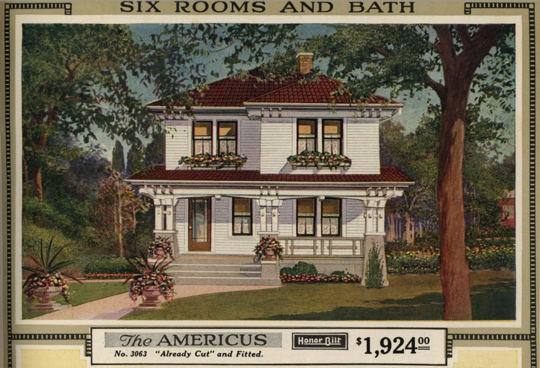 americus sears mail order house