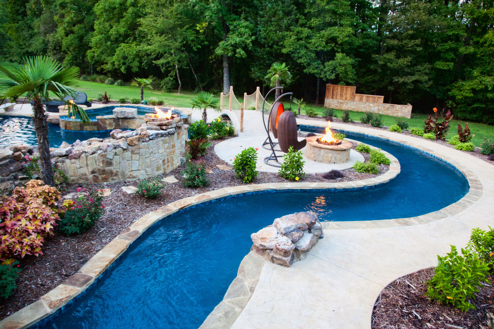 backyard lazy river