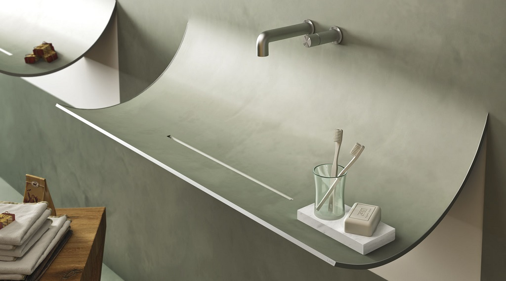curved sink surreal home design-1