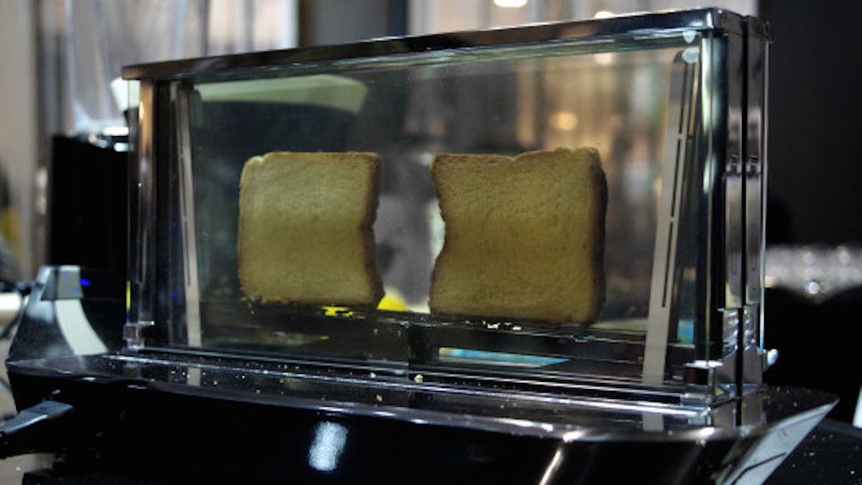 glass toaster futuristic kitchen gadgets