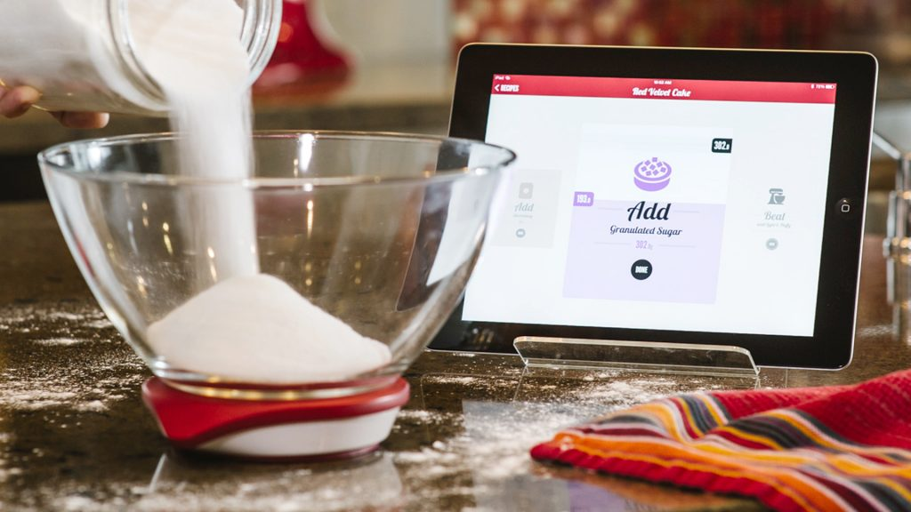 ipad kitchen scale futuristic gadgets