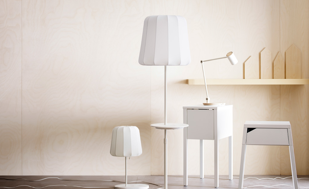 ikea introduces furniture with built in qi wireless charging technology. Black Bedroom Furniture Sets. Home Design Ideas