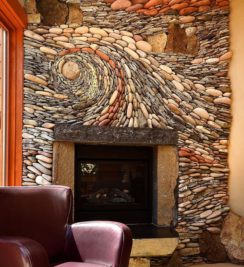 rock wall surreal design