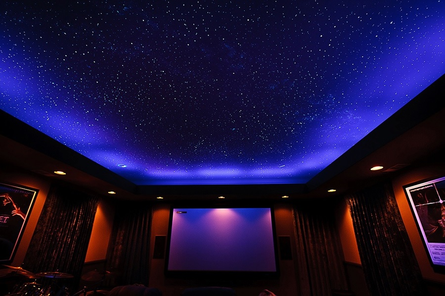 star ceiling surreal home design