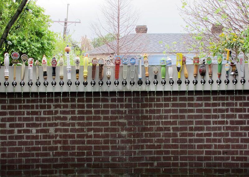 backyard beer tap
