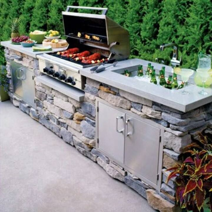 barbecue drink cooler
