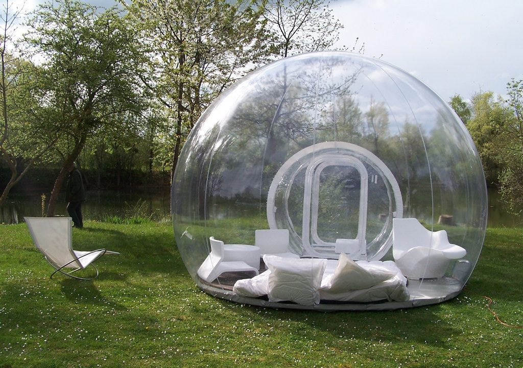 This cozy c&ing bubble that would be perfect for stargazing. & 21 impossibly cozy tents that you want to camp in all year round