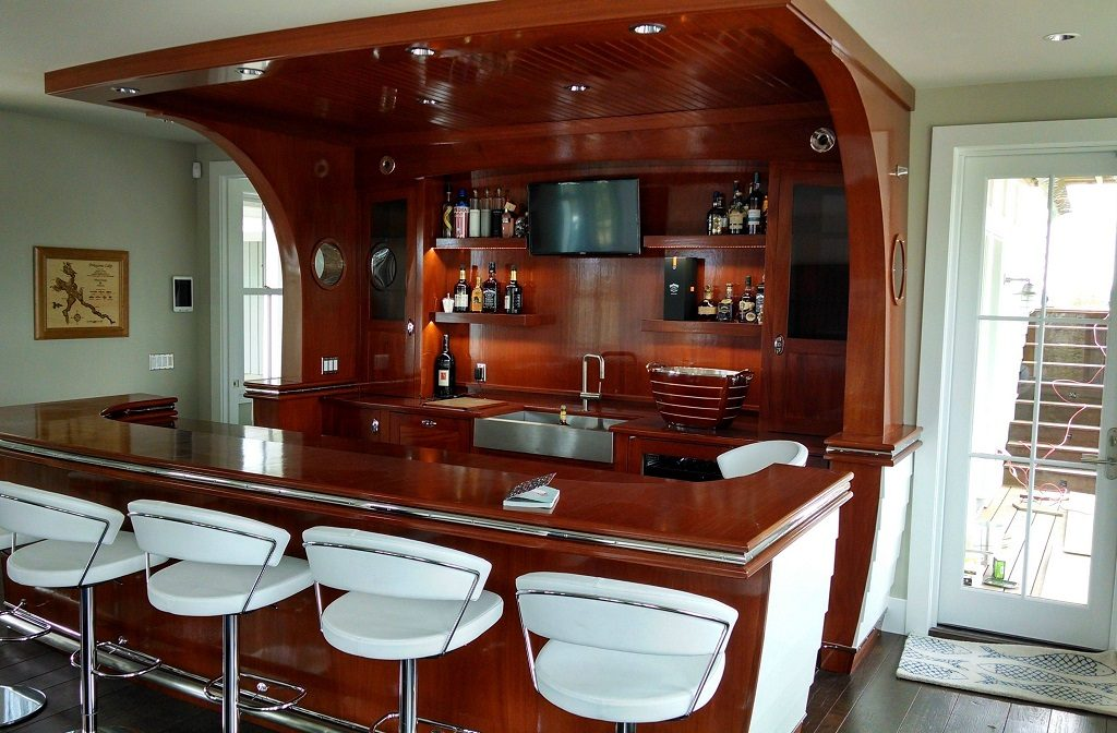 Foyer Bar Ideas : Ridiculously awesome home designs for beer and wine lovers