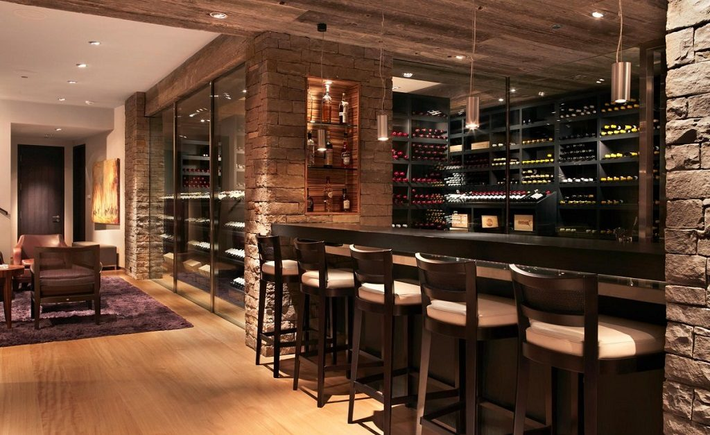 25 ridiculously awesome home designs for beer and wine lovers for Cost to build wine cellar