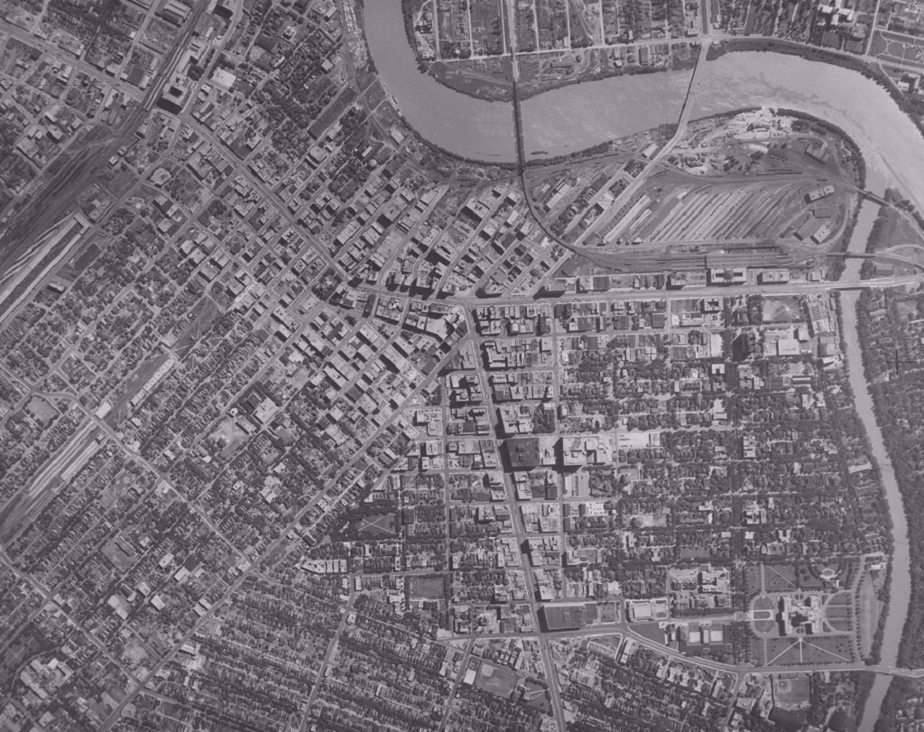 16 Historic Aerial Photos Of Winnipeg Dating From 1882 To 1950