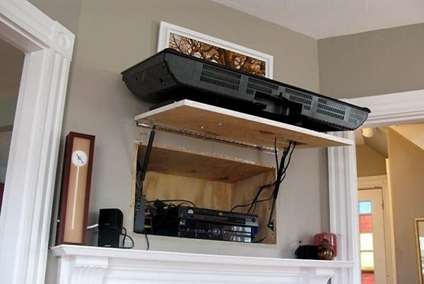 hinged TV wall mount