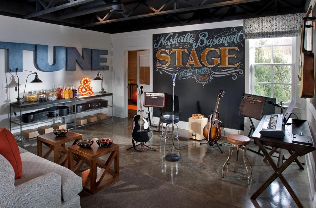 home music room