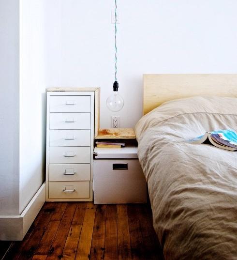 tiny apartment hanging lamp