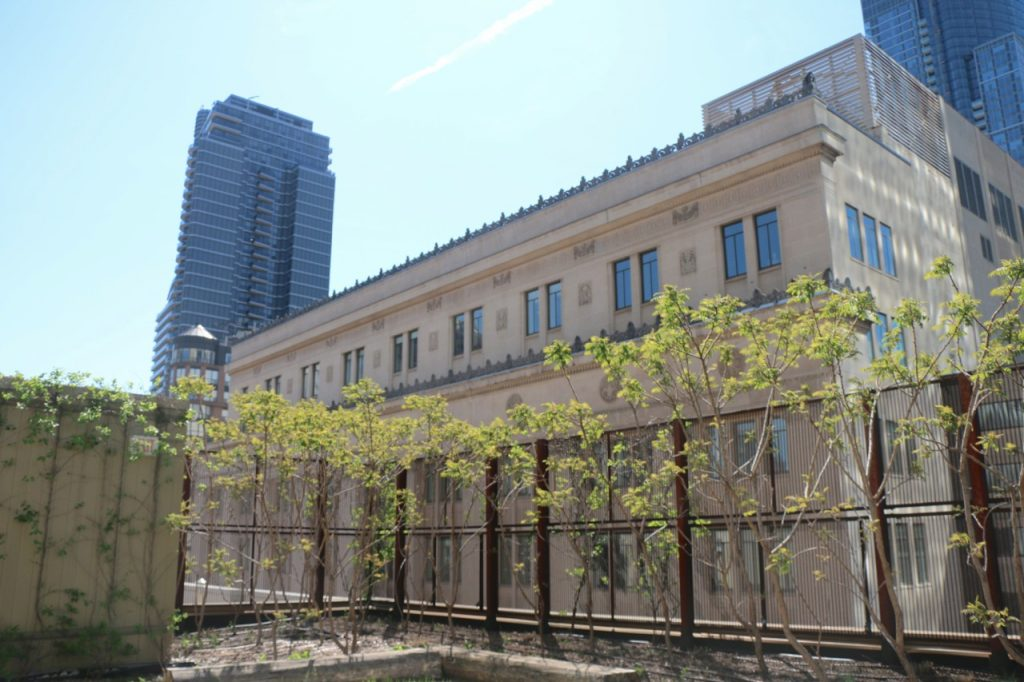 30 College Green roof