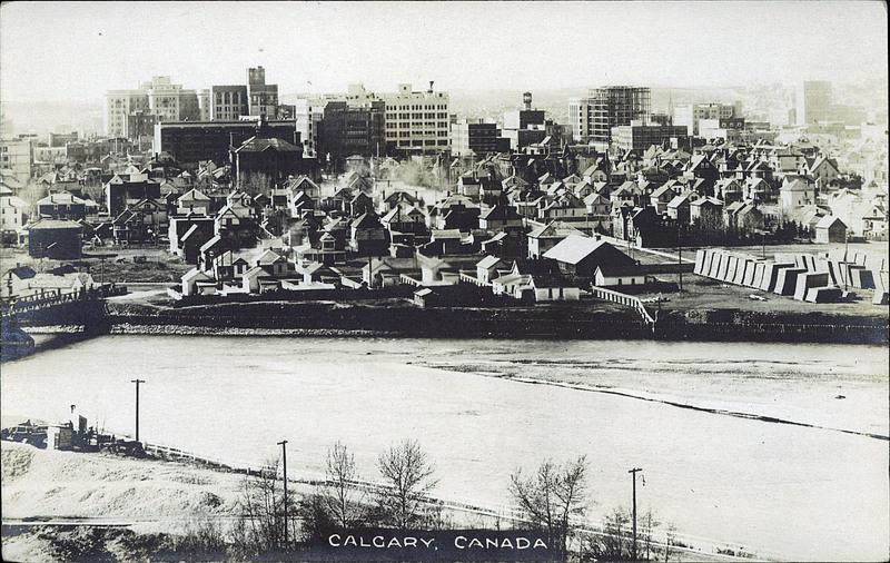 Calgary history 1912