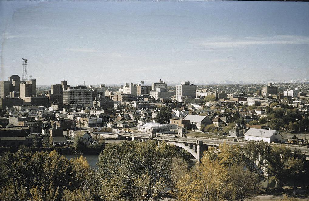 Calgary history 1957