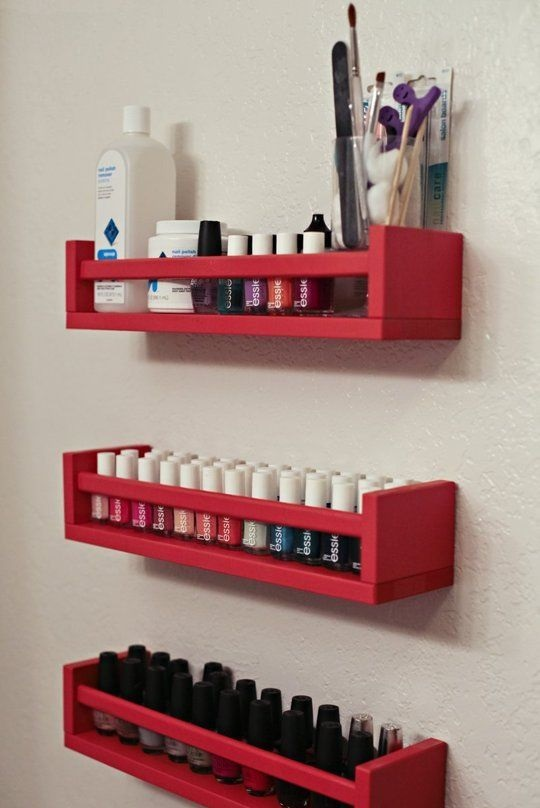 bathroom storage spice rack