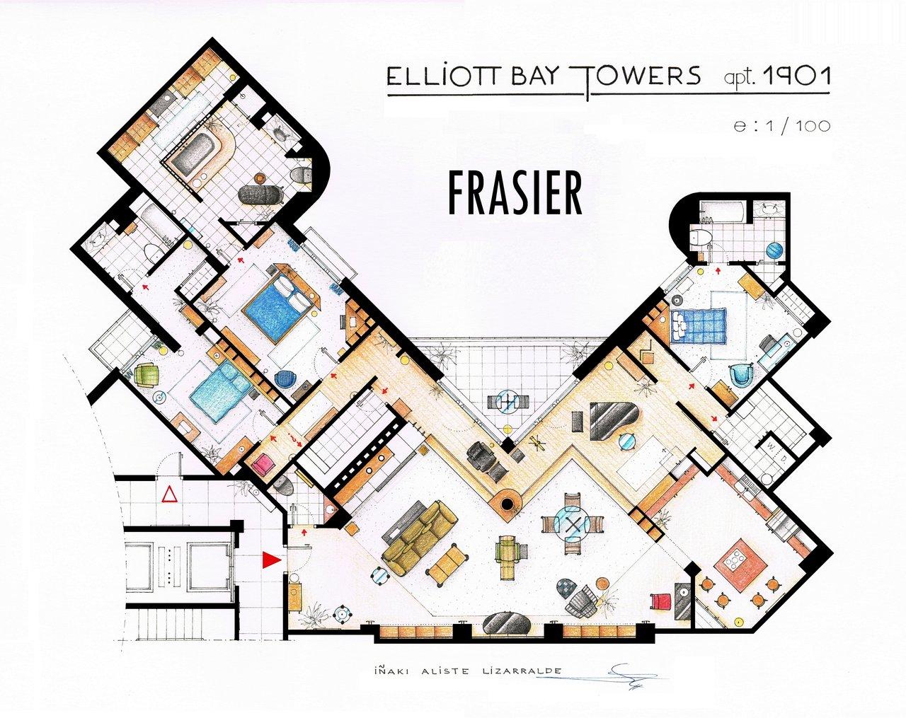 Frasier floorplan