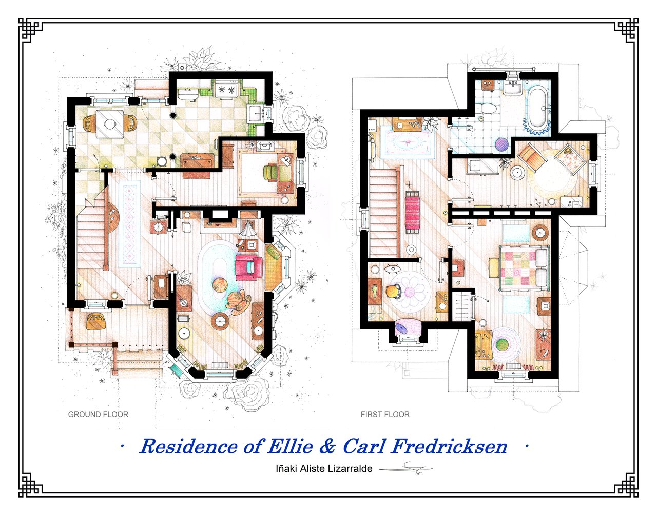 Famous Floorplans From Your Favorite Movie And Tv Show Homes Floor Plans For Famous Tv