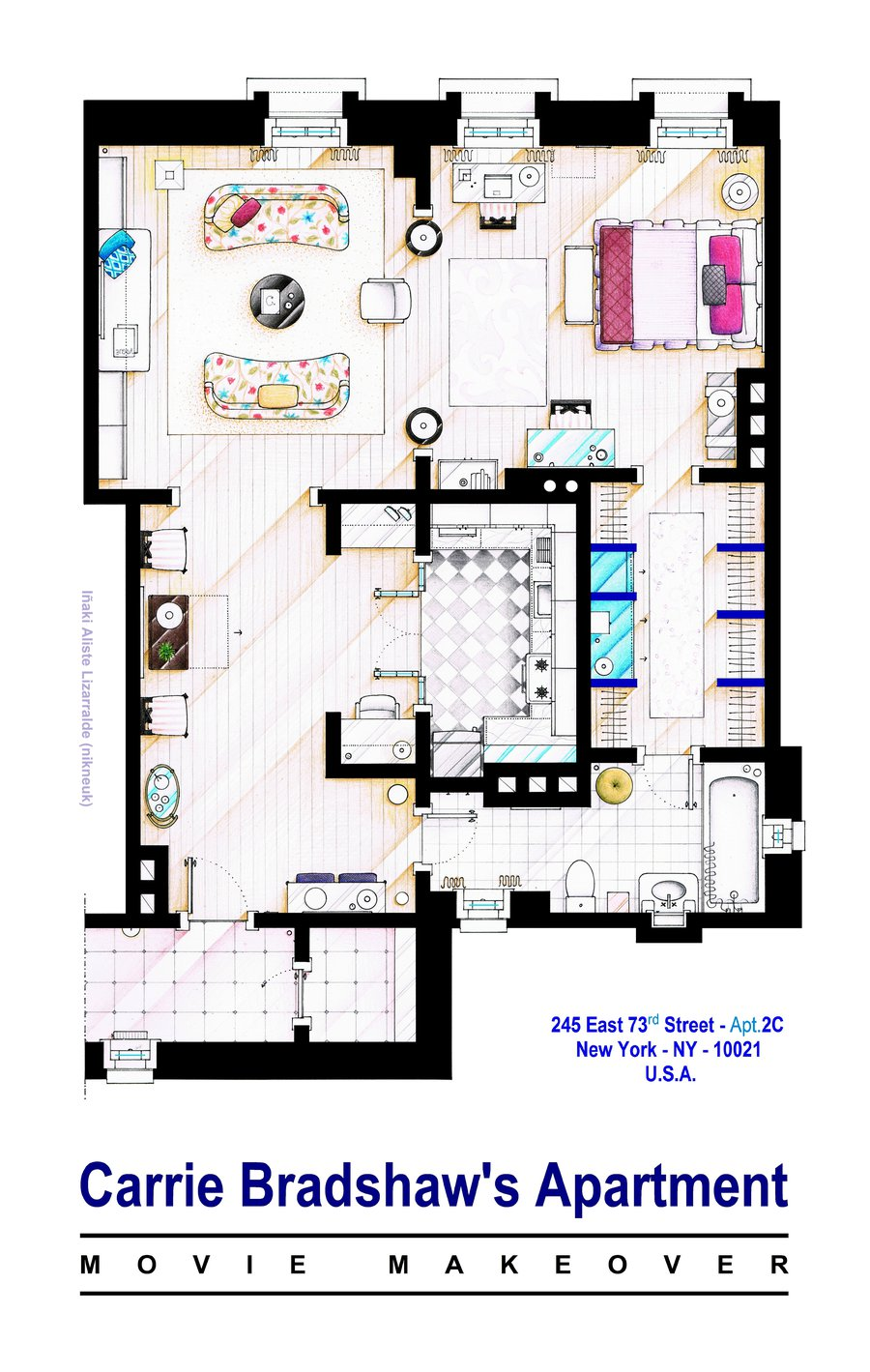 19 Famous Floorplans From Your Favorite Movie And Tv Show