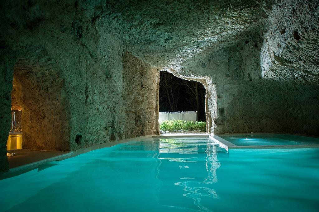 cave pool room