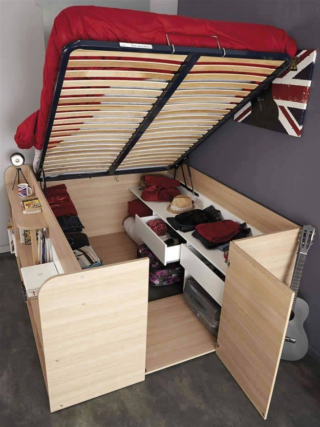 Beautiful storage bedframe