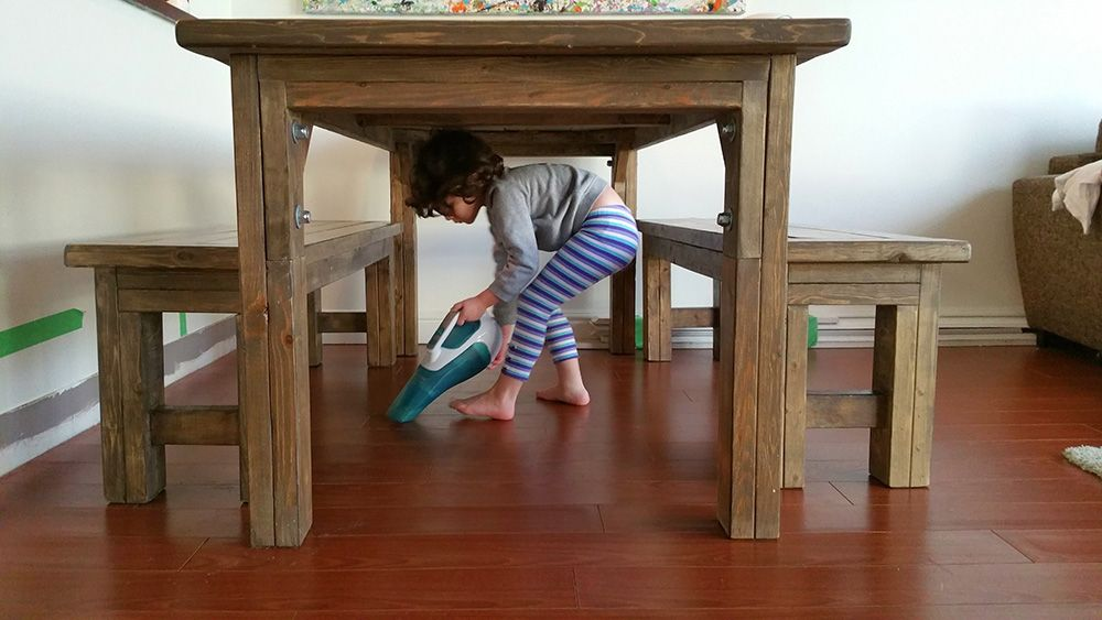 cleaning under table-compressed