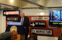 NYC subway system tech