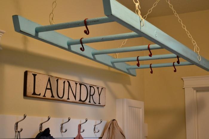 ladder laundry drying rack