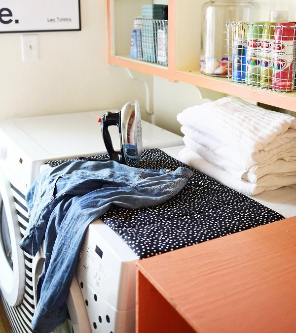 laundry room ironing mat