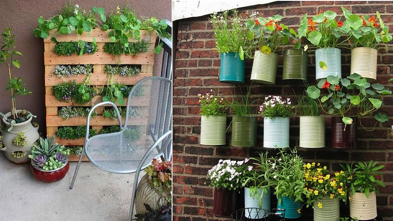 balcony flower pots