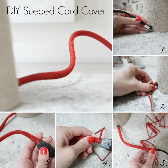 High Quality Hiding Eyesores   Electrical Cords Idea