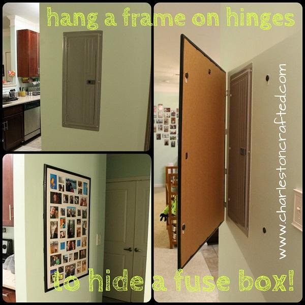 hiding eyesores fuse box