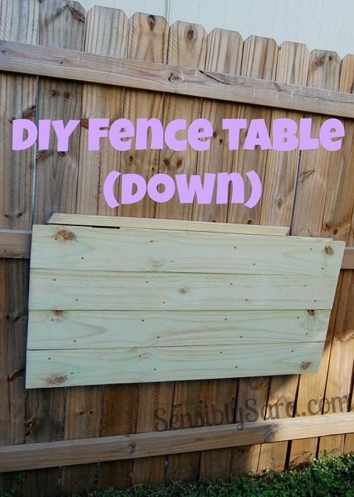 backyard fence table 2