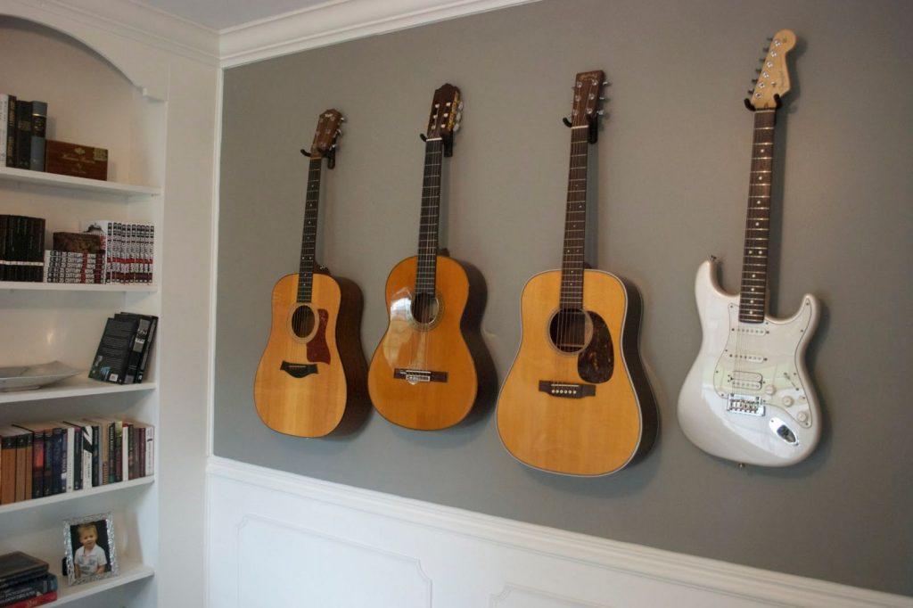 display guitars