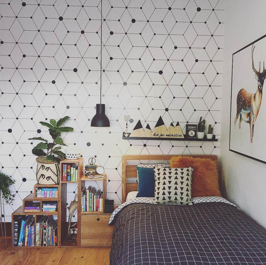 17 delightful kids 39 rooms that are more stylish than yours for Kids room wall paper