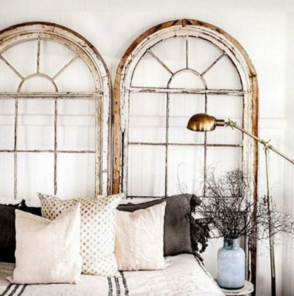 pin porchliving chic headboard swing old reclaimedwood from shabby headboards oneofakind porch