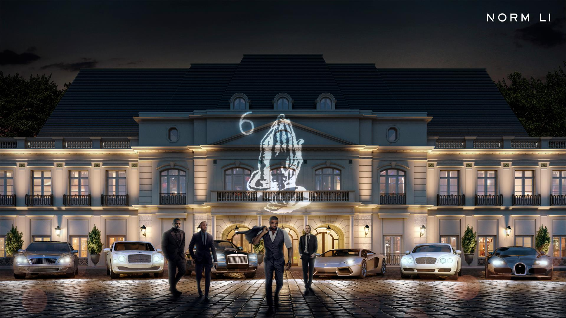 Detailed Look Drake Toronto Mansion on Pool House Plans And Drawings