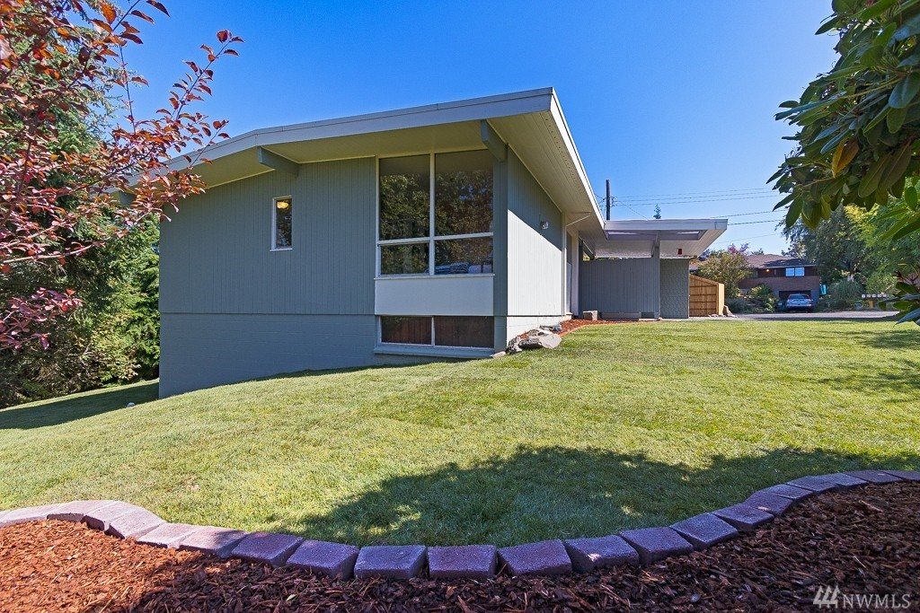 Legendary Seattle Architect 39 S Mid Century Modern Home On